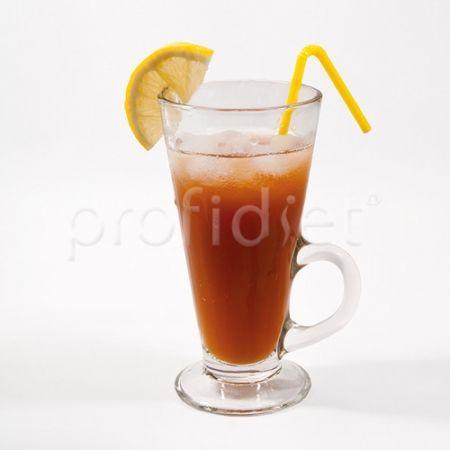 Nápoj ľadový čaj s broskyňovou príchuťou