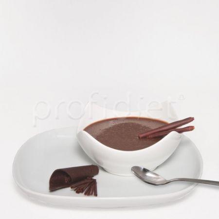 Lahodný puding s príchuťou čokolády