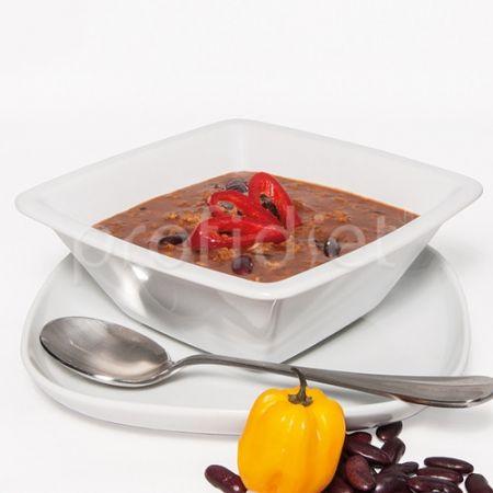 Červené chili fazuľky