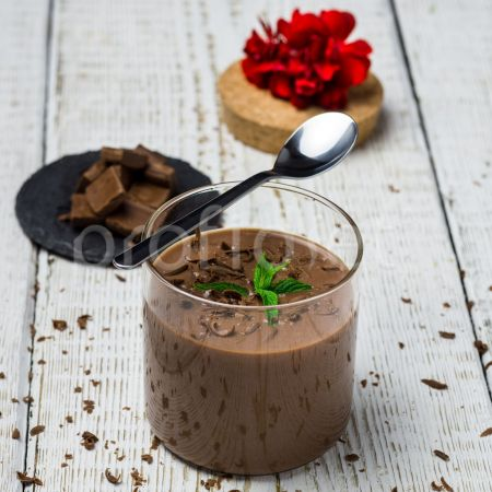 Dezert s čokoládovou príchuťou