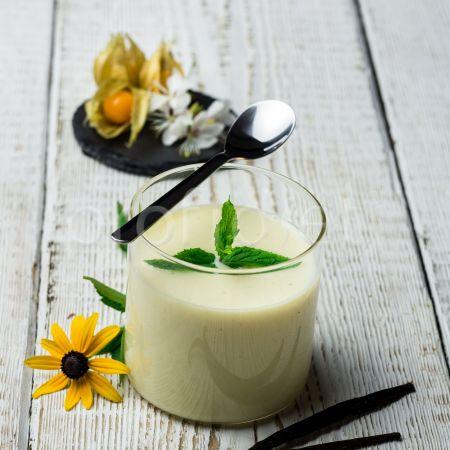 Dezert s vanilkovou príchuťou
