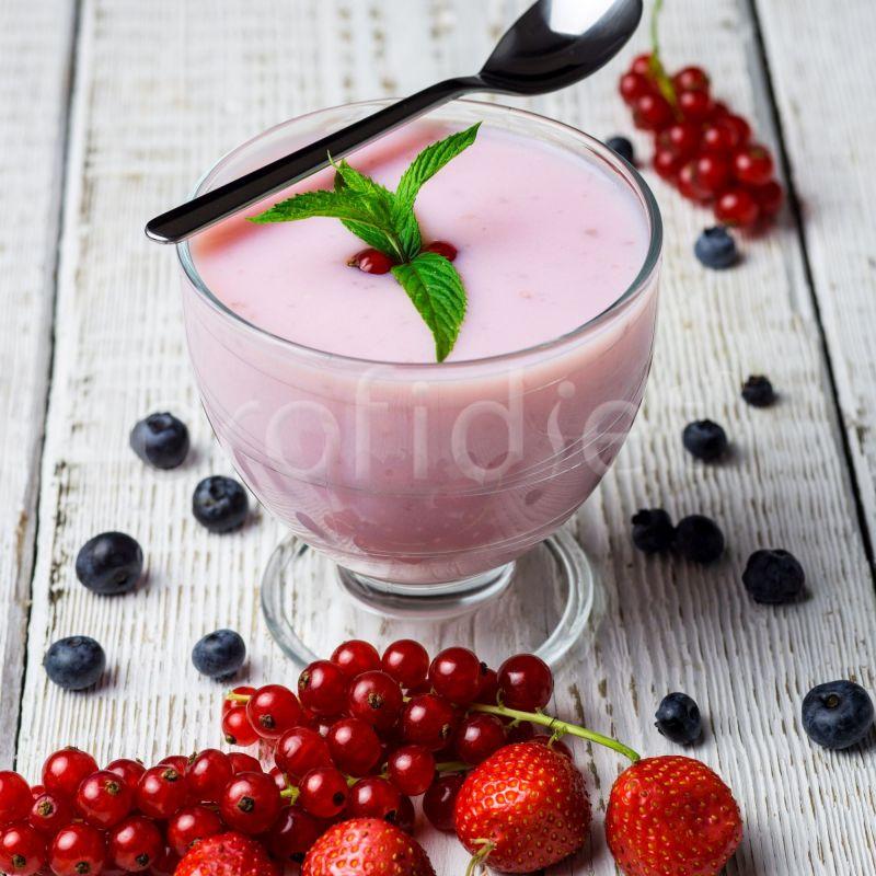 Jogurtový ovocný dezert