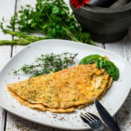 Omeleta bylinková