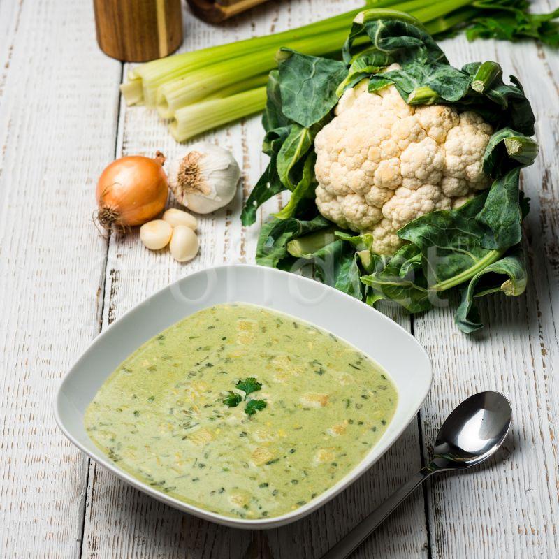 Zelená zeleninová polievka