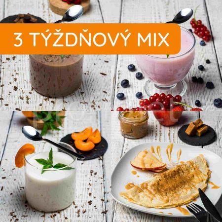 Mix 12 - Trojtýždňový balíček Fit + 2 nápoje zadarmo