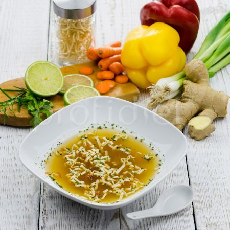Ázijská rezancová polievka