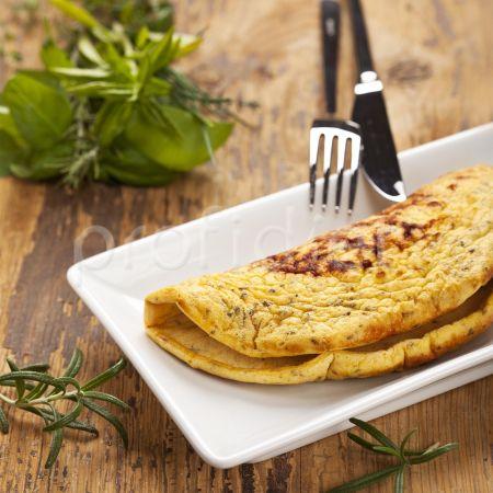 Omeleta s provensálskym korením