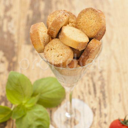 Krutóny s príchuťou syra v talianskom štýle