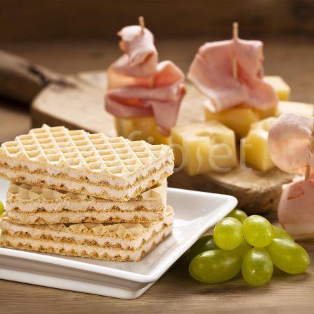 Slaná tyčinka s príchuťou údenej šunky a syra