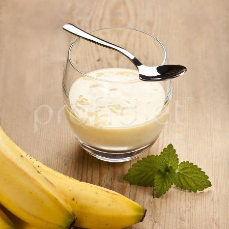Puding s banánovou príchuťou