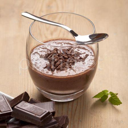 Puding s čokoládovou príchuťou