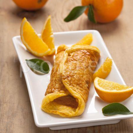 Palacinka s príchuťou pomaranča