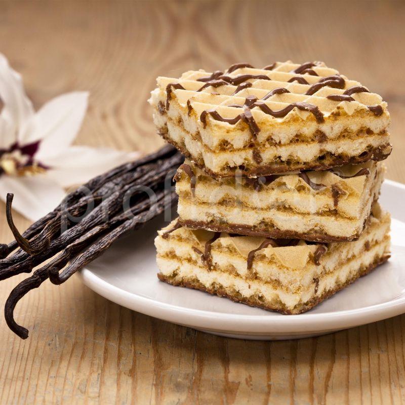 Vafle s vanilkovou príchuťou