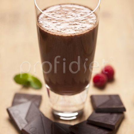 Kokteil s príchuťou tmavej čokolády