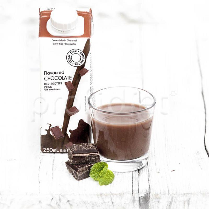 Uht nápoj s čokoládovou príchuťou