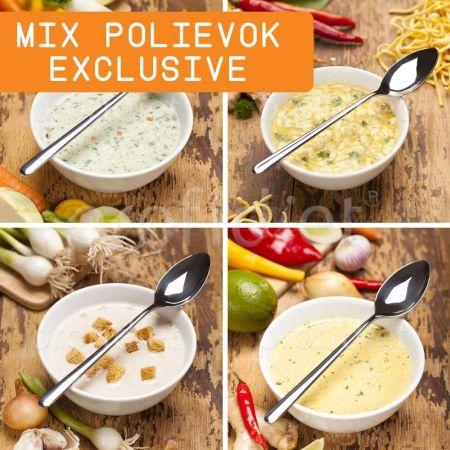 Ochutnávka - proteínové polievky Exclusive