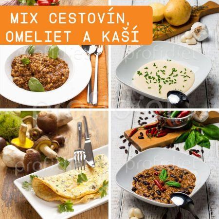 Ochutnávka - proteínové cestoviny, omelety a kaše Profidiet