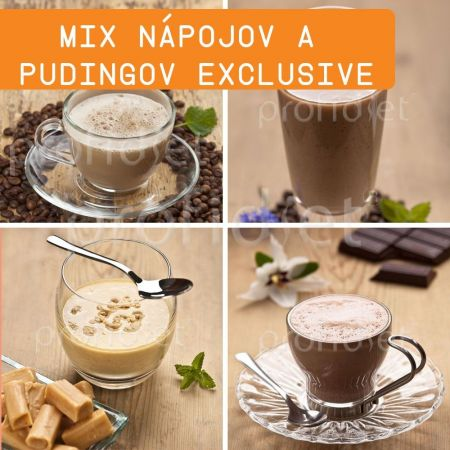 Ochutnávka - proteínové nápoje a pudingy Exclusive