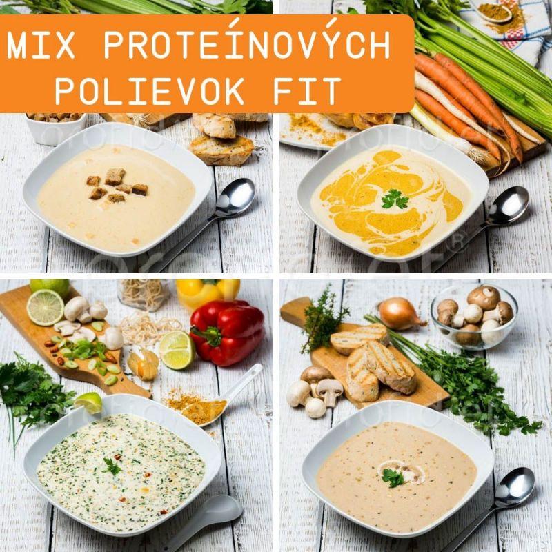 Ochutnávka - proteínové polievky Fit