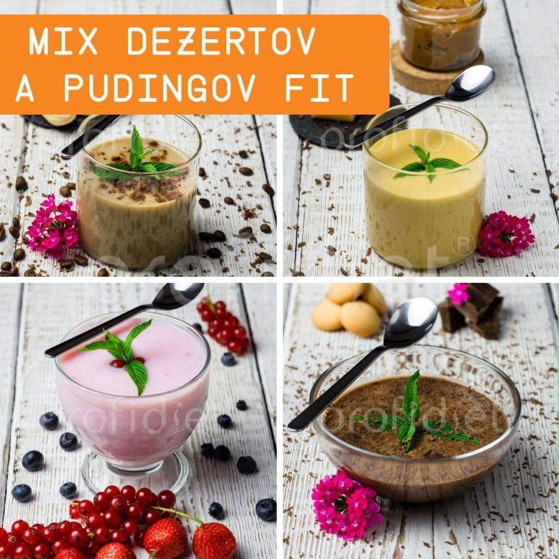 Ochutnávka - proteínové dezerty a pudingy Fit