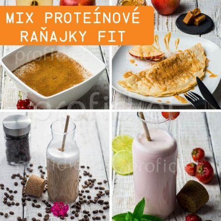Ochutnávka - proteínové raňajky/desiata Fit