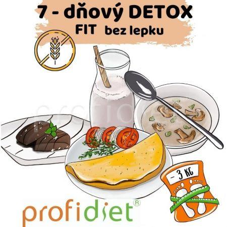 7-dňový proteínový detox Fit bez lepku + nápoj