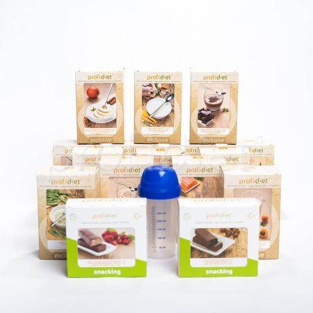Proteínová diéta Profidiet na 4 týždne + 2 šejkre zadarmo